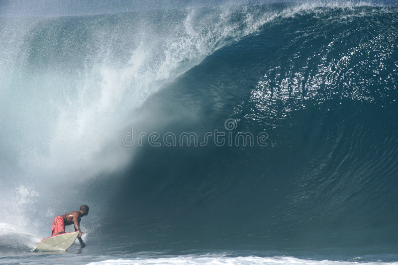 Download Surfer at Banzai Pipeline stock photo. Image of surfer - 1103906