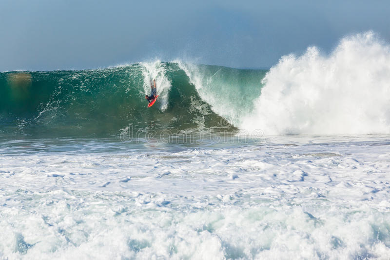 Surfer Body Boarding Surfing stock photos