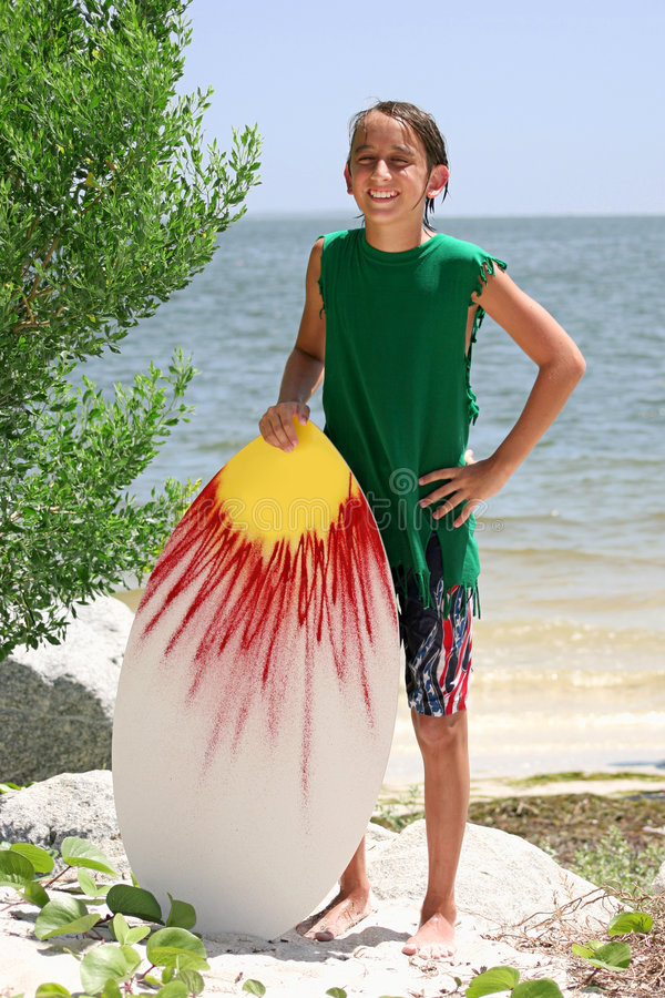 Free Surfer Boy Stock Photo - 2508490