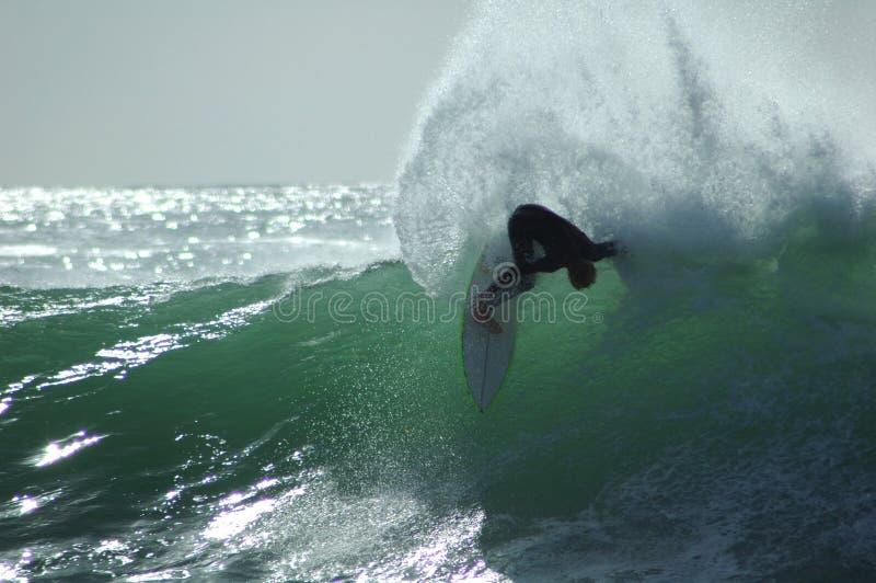 Surfer d'amusement photo stock