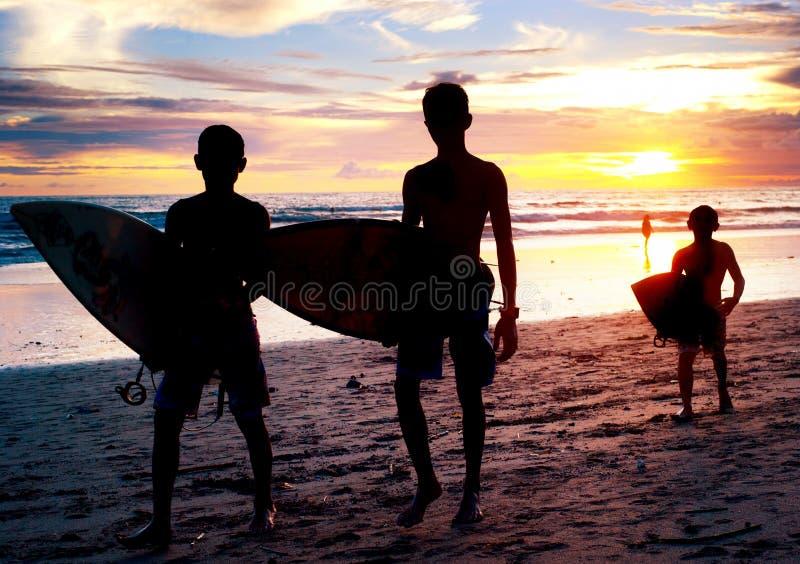 Surfer de Bali photographie stock