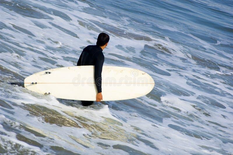 Surfer de la Californie image stock