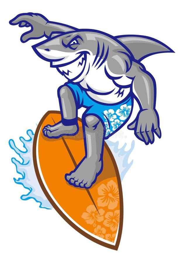 Download Surfer de requin image stock. Image du panneau, océan - 45363311