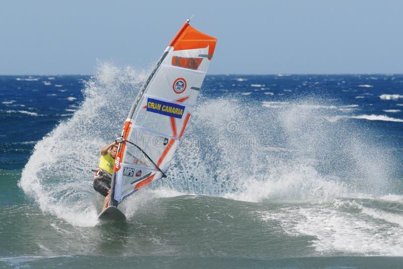 Surfer de vent de PWA photographie stock