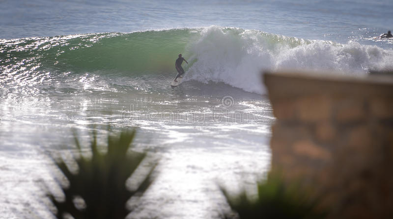Surfer des frühen Morgens, Taghazout-Brandungsdorf, Agadir, Marokko 3 stockfotos