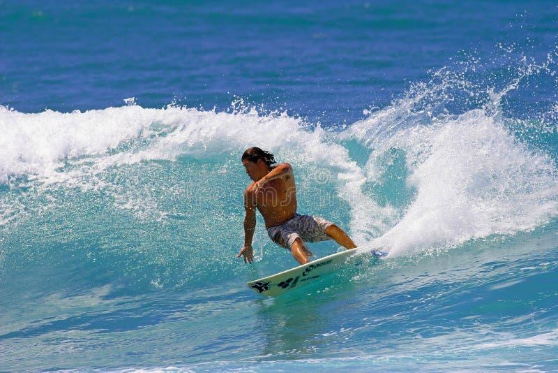 Download Surfer Kalani Robb Surfing Honolulu, Hawaii Editorial Stock Image - Image: 14674964