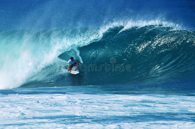 Download Surfer Michel Bourez Surfing Pipeline In Hawaii Editorial Photo - Image: 22417596