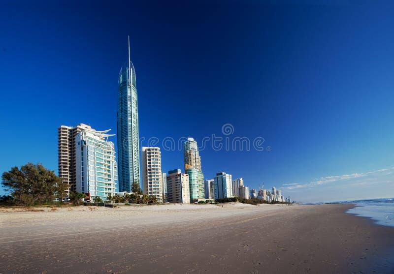 Surfer Paradies, Gold Coast stockfoto