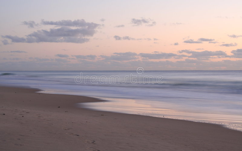 Download Surfer's Sunrise stock photo. Image of coast, beach, clouds - 673456