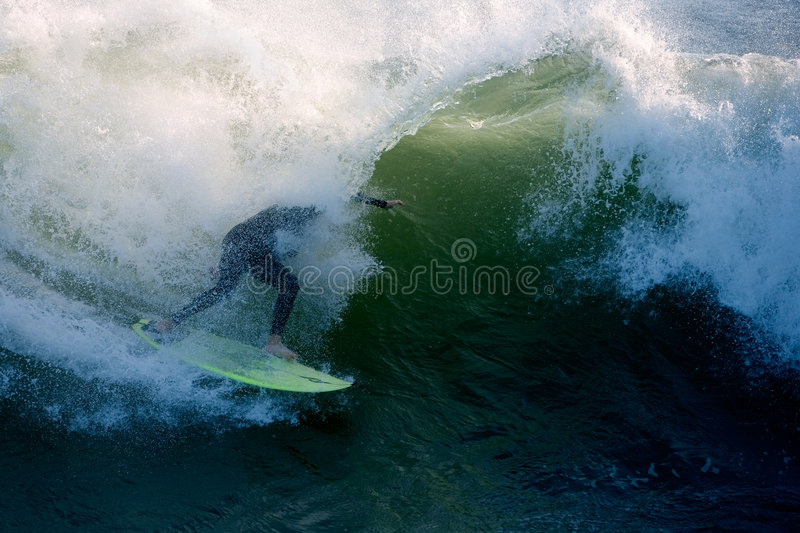 Surfer Tube royalty free stock photography