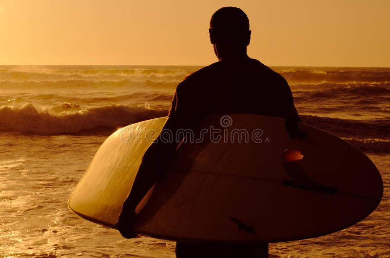 Download Surfer watching the waves stock photo. Image of watching - 25487572