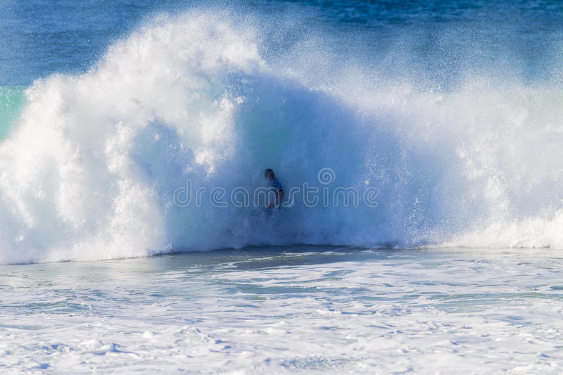 Download Surfer Wave Crashing stock photo. Image of energy, unidentified - 27384796