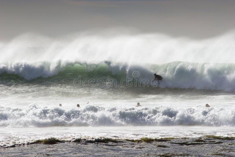 surfer wody zdjęcia stock