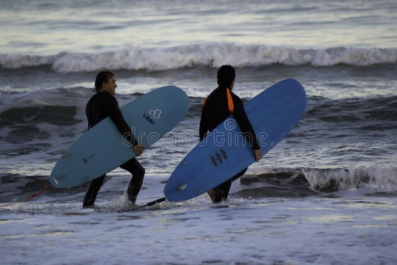 Surfers photos stock