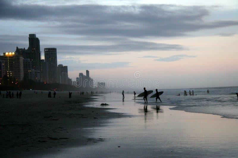 Surfers paradis, Australie photos libres de droits