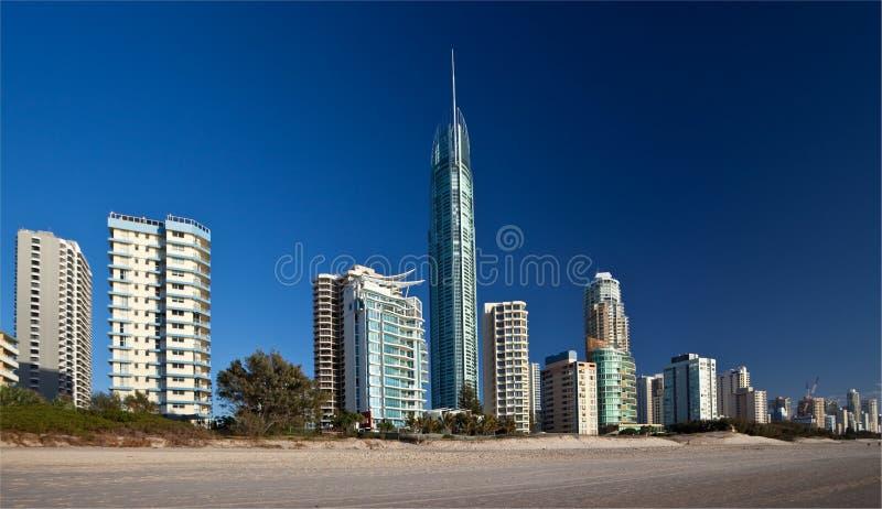Surfers paradis, Gold Coast images stock