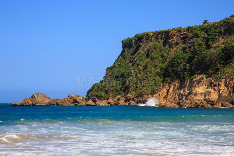 Surfersstrand in Aguadilla, Puerto Rico royalty-vrije stock fotografie
