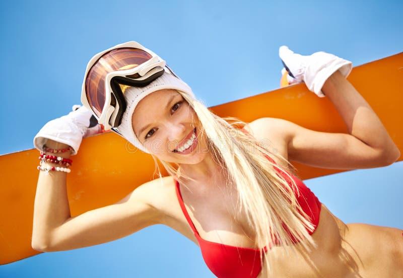 Surfeur d'été images stock