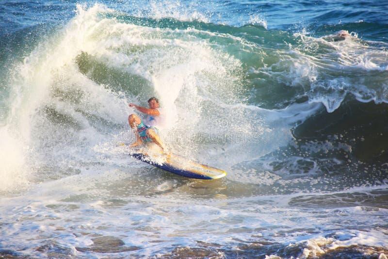Surfeur de Californie photo libre de droits