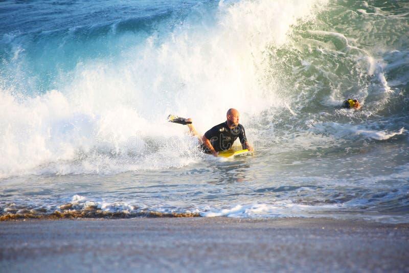 Surfeur de Californie photo stock
