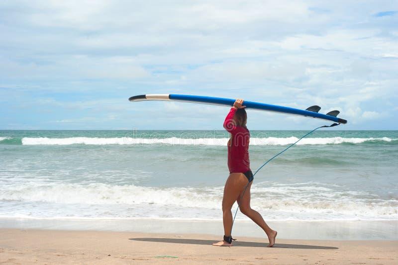 Surfgirl zdjęcia stock