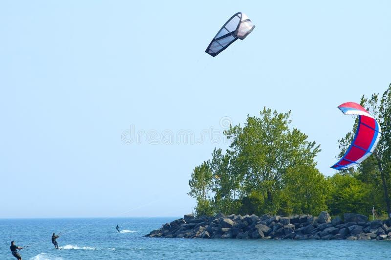 Download Surfiarze kite 3 zdjęcie stock. Obraz złożonej z popołudnie - 142250