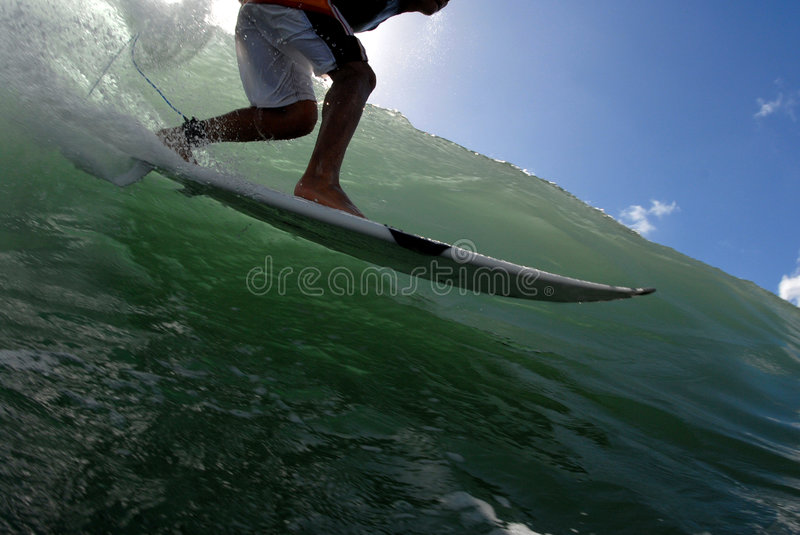 Download Surfing stock image. Image of teen, surf, hawaii, surfer - 1949011