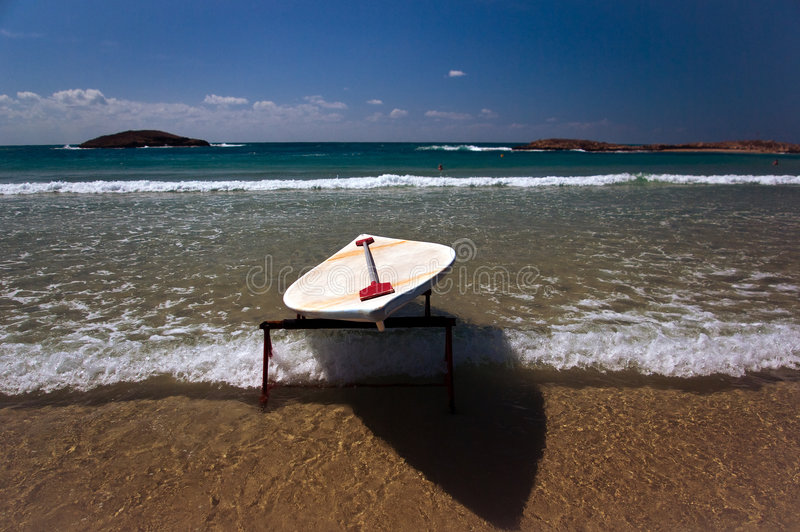 Surfing stock image
