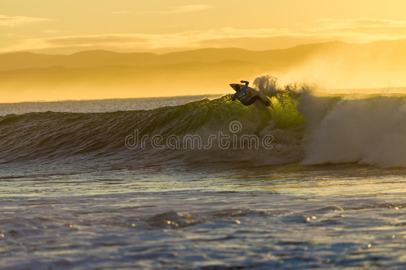 Download Surfing Action Wave Morning Editorial Stock Image - Image of contests, south: 26924934