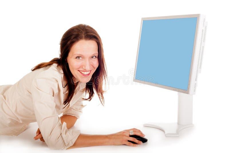 surfing kobieta obraz stock