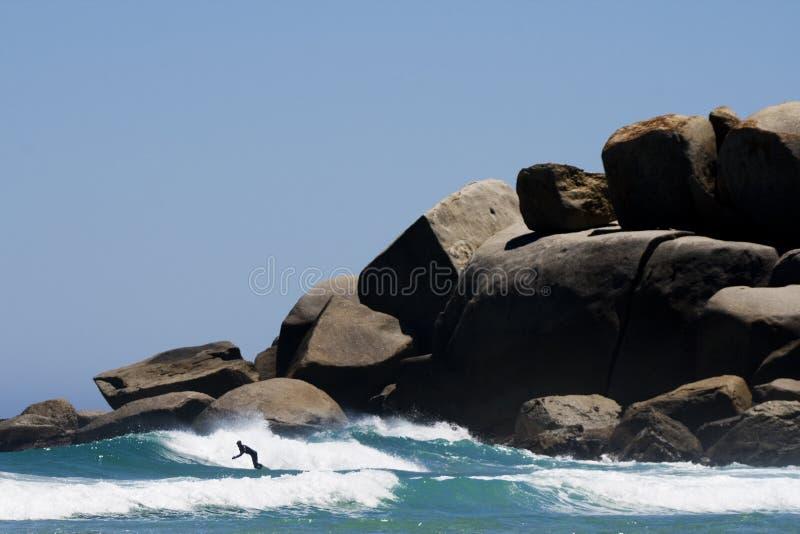 surfing morza obrazy stock