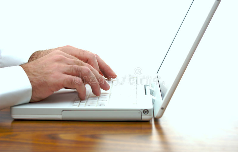 Surfing The Net Stock Image