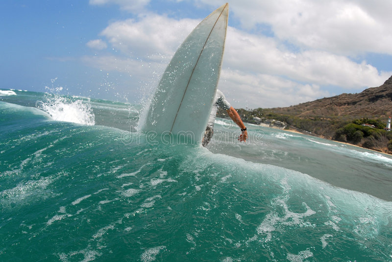 Download Surfing Off The Lip Royalty Free Stock Images - Image: 2591739
