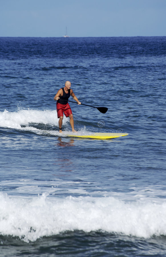 Download Surfing the Pacific stock image. Image of surfing, adventure - 2323355