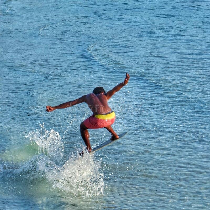 surfing powietrza zdjęcia royalty free