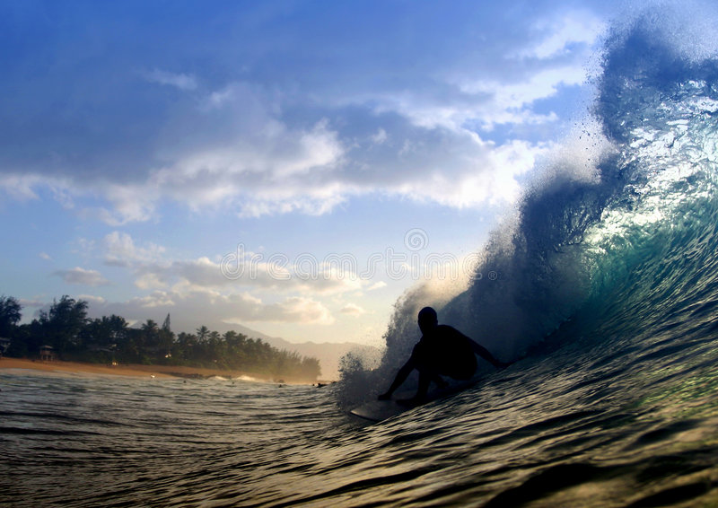 Download Surfing Silhouette stock image. Image of sports, pictures - 8890509