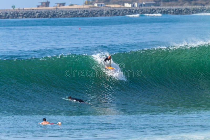 Surfing Surfer Action royalty free stock images