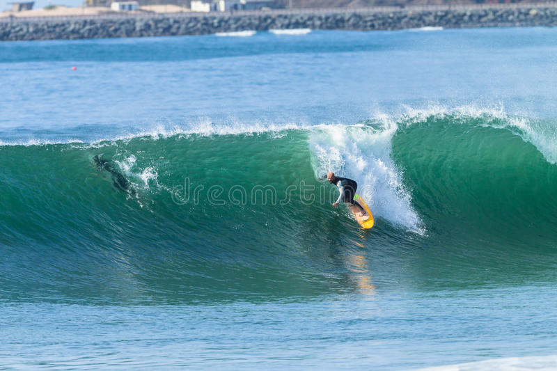 Surfing Surfer Action stock photography