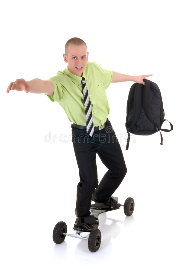 Surfing Towards Success Royalty Free Stock Photo