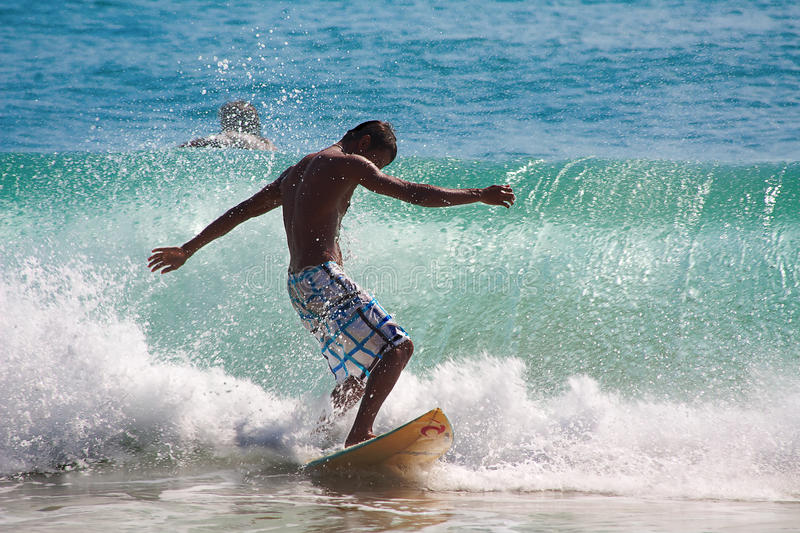 Download Surfing the waves editorial image. Image of liquid, active - 19859830