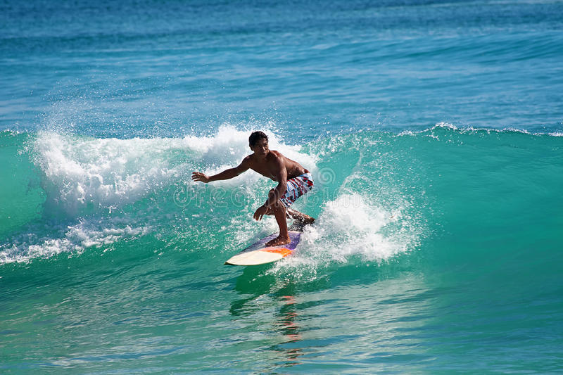 Download Surfing The Waves Editorial Stock Image - Image: 19859834