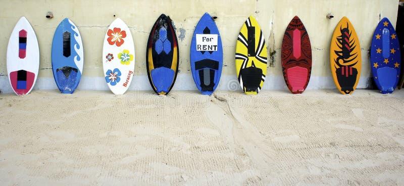 surfingbrädor arkivfoto