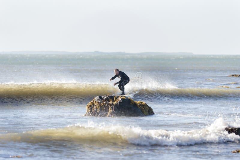 Surfingowów cięcia ja zakończenie zdjęcia stock