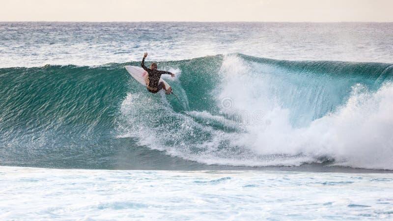 Surfingu Banzai rurociąg fotografia royalty free