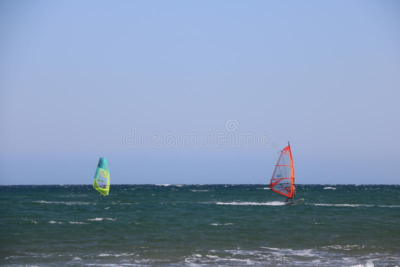 Surfist i franska Riviera Frankrike royaltyfri bild
