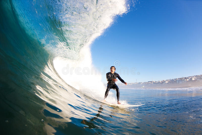 Surfista fotografia stock