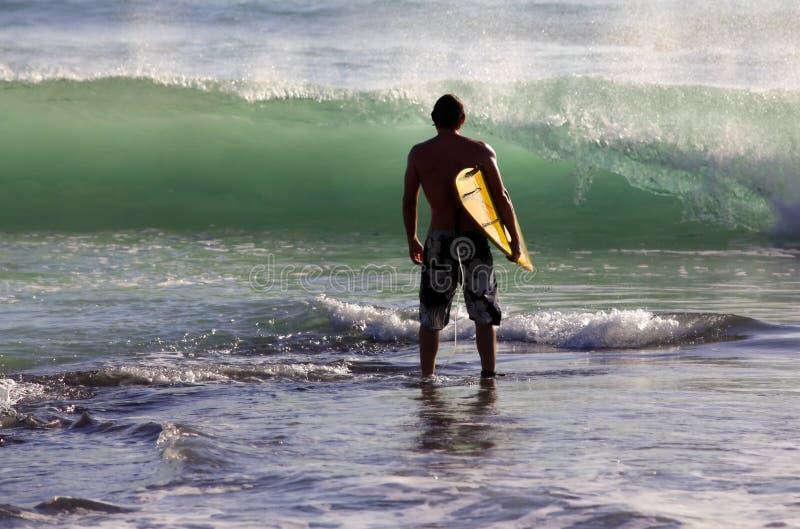 Surfista fotografie stock libere da diritti