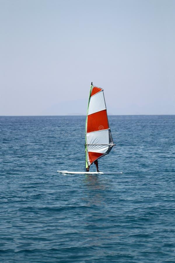 Surfista del vento immagine stock libera da diritti