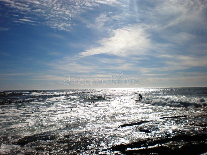 Surfista di Siver immagini stock libere da diritti