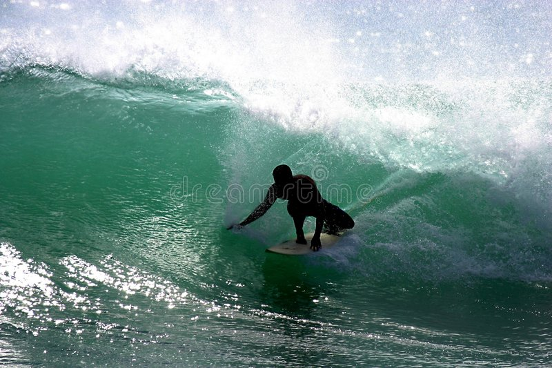 Surfista di Southshore immagine stock